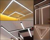 1,2 m de haut et bas suspendu d'éclairage lumière linéaire pour la Chambre des ménages, Eclairage intérieur