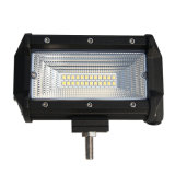 "Di IP68 8d 2 di riga dell'inondazione del punto mini LED barra chiara dell'indicatore luminoso 72W 5 "" per l'automobile SUV 4X4 fuori strada"