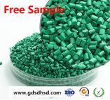 Colore verde Masterbatch con il carbonato di calcio nero del carbonio