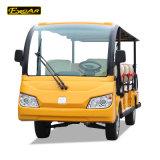 道の電気シャトルの観光バスを離れて、観光バス