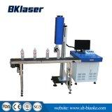 A linha de produtos de exclusão aérea máquina de marcação a laser de CO2 automática em madeira