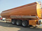 Los ejes 3 Tanque personalizado Trailer 45000L semi remolque cisterna de combustible