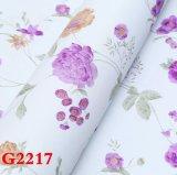 Tissu de mur de PVC, papier peint, PVC Wallcovering, papier de mur, tissu de mur de PVC, papier peint