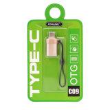 충전기 USB 케이블 (금) 플러스 유형 C 접합기 OTG 변환