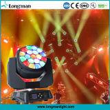 De LEIDENE van de Straal van de hoge Macht 285W RGBW Bewegende HoofdVerlichting van de Nachtclub