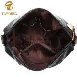 広州の製造者の卸売の織り方ベルトが付いている女性のハンドバッグの革トートバック