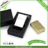 Metal Flameless do isqueiro do sílex do arco eletrônico por atacado do cigarro do USB Windproof