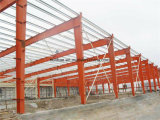 Estructura de acero de las rejas de la barra de metal soldado
