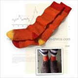 Ungerade Socken-Houndstooth farbige strickende Gefäß-Socke