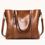 Heiße Reißverschluss-Entwurfs-Dame-HandtascheTote Shoudller Beutel-grosse Größen-beiläufiger Beutel für Frauen Sy8554
