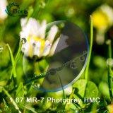1.67 Obiettivo ottico grigio fotocromico di Hmc
