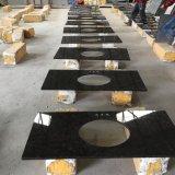 Загар коричневого гранита полированной плитки&слоев REST&место на кухонном столе
