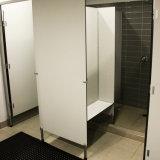 Public utilisé la salle de bains armoire de toilette phénolique de partition