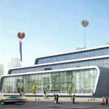 Mur rideau en verre pour le bâtiment commercial High-Grade