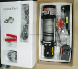 9500lb argano elettrico impermeabile approvato del Ce SUV con la corda sintetica