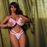 Jouet sexy de sexe de fille de sein énorme de poupée de sexe de silicones de bande de 170 cm pour l'homme adulte