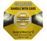 Escritura de la etiqueta del papel de la logística del amortiguador de choque