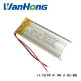 батарея лития 3.7V 700mAh 702050 перезаряжаемые