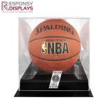 Boîte d'affichage de basket-ball de cas en acrylique