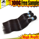Straight Brazilian Jet Black Human Hair Weaving