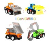 Mini automobili di plastica per i capretti
