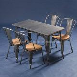 Venda por grosso de mobiliário de design Vintage Cafe mesa e cadeira Industrial (SP-CT676)