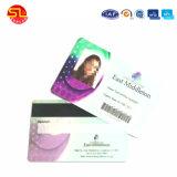 Les cartes de visite en plastique des cartes de visite NFC avec 4/4 de l'impression