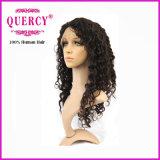 Peluca llena del cordón del nuevo del pelo el 100% del ser humano pelo brasileño común de la Virgen