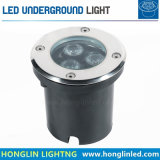 옥외 고성능 LED 지하 빛 6W LED Inground 램프