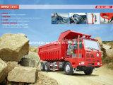 Sinotruk rey Mining Tipper de 25 toneladas
