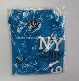 Blaues kurzes Hülsen-Form-Polo-Hemd für Mann