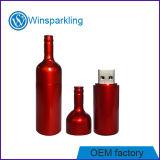 USB caldo del disco istantaneo del USB della bottiglia di vino di vendita