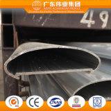 Het poeder Met een laag bedekte BuitenTraliewerk Styestem van het Aluminium van de Trede van het Balkon Binnenlandse