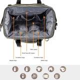 Saco de Tote unisex do tecido do bebê do curso com os bolsos isolados almofada em mudança