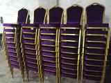 فندق أثاث لازم إستعمال عادية معدن مأدبة يتعشّى كرسي تثبيت ([ب01])