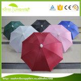 Kundenspezifische Größen-Qualität 23 X 8ribs imprägniern Plastik für Regenschirm