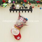공장 호화스러운 Xmas 스타킹 자루 산타클로스 직접 개인화된 호화로운 크리스마스