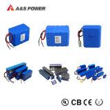 Recargable de 3,7V 2600mAh Li-ion de litio 18650 celda de la batería con certificación Bis