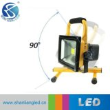 IP65 10W 20W 30W 50W 100W nachladbares LED Flutlicht für Dringlichkeit