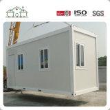 Casa prefabricada movible modular galvanizada del envase del marco de acero