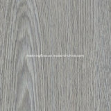 La Cáscara de patrón de madera de color gris y el Palo de baldosas de vinilo resistente al agua Self-Stick Lvt Baldosa 1801