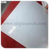 Glace laquée ultra claire inférieure de fer de Starphire pour Splashbacks