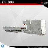 Máquina automática de Belling da tubulação do PVC da eficiência elevada do controle da tela do PLC