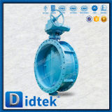 Из одного куска Didtek червячного вала эксцентрика троих двухстворчатый клапан