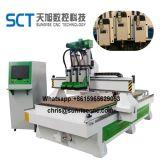Los Jefes 1325-3 Atc neumática máquina rebajadora CNC para madera