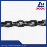 8mm 10mm negro oxidado de la cadena de enlaces
