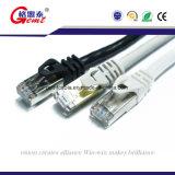 Cat5 Kabel van het Koord van het Flard van de Kabel van het Netwerk van de Kat van Cat5e CAT6 6A Cat7 de Vlakke met RJ45