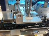 パック機械(TG-25XB)のまわりの自動カートンに入れるびんの覆い