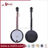 Preto fosco compensado de madeira de mogno Rim 5 String (ABO Banjo chineses245G-MB)