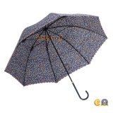 زهرة يطبع مظلة مستقيمة لأنّ نساء يستعمل, هبة مظلة